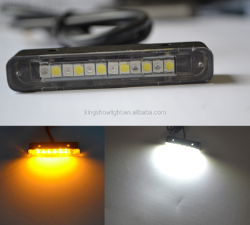 12 LED Waterproof NEW License Plate Light For Universal Car Motorcycle Motorbike