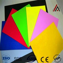 black hard uv resistant plastic sheet from china supplier