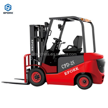 Wholesale Price Electric Forklift Truck for 1.5 Ton with AC Controller