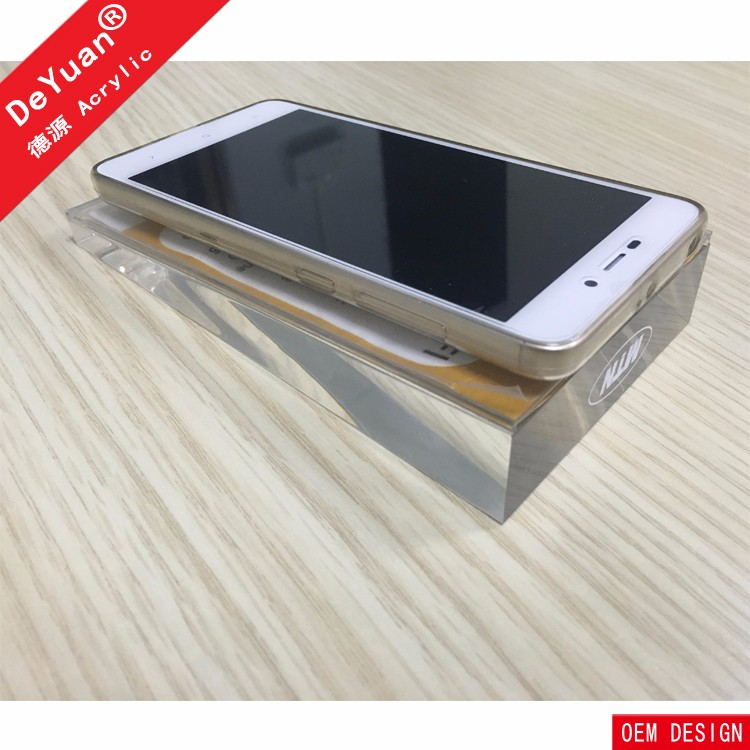 Cheap Phone Case Card Holder Acrylic High Transparency