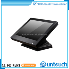 "Runtouch RT-1510 pos monitor manufacturer supply 15"" resistive touch screen Through Glass Touch"