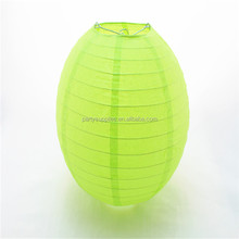 Candy Color Apple Green Paper Lantern Party Decoration Hanging Lampshade