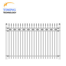 Complete production line round metal fence post caps galvanized wrought iron fences