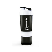 Hot Selling Sports Water Bottle, Protein Bottle Shaker, Plastic Bottle Shaker
