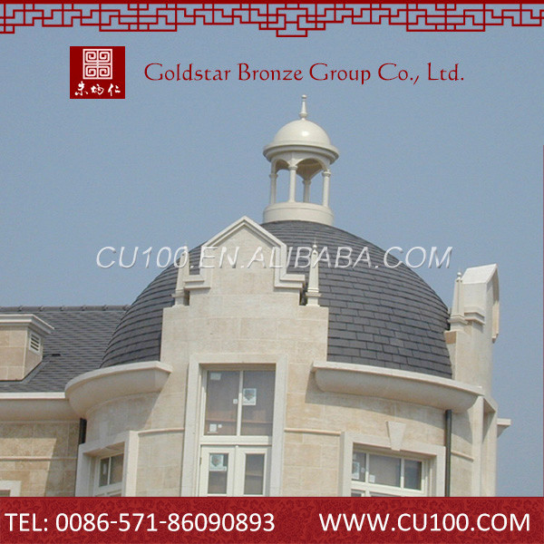 Luxury new commercial custom cheap copper house roof
