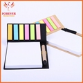 Wholse Sale Five Color Sticky Notes Pad 100 Sheets White Paper With Line
