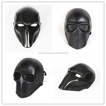 Christmas Ghost Rider Party Mask Carbon Fiber