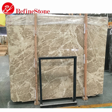 kitchen light emperador marble slab design,stone and marble
