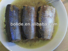 canned sardine fish in oil 125g,155g