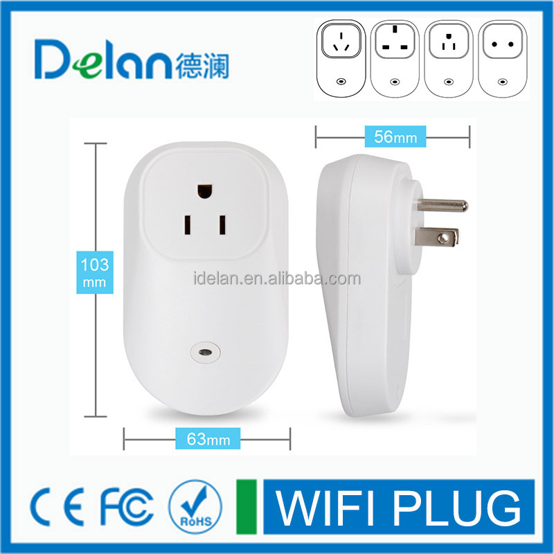 smart wifi plug socket for home automation