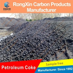 hot selling low sulfur petroleum coke green coke for foundry