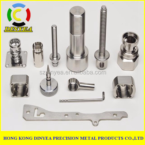 custom precision cnc metal parts machining for engineering machinery