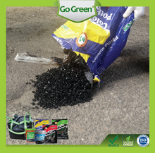 Cold mix asphalt applicable in all weather conditions and can work in water