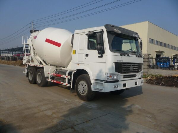 used for concrete mixer truck large capacity 6*4 with good quality