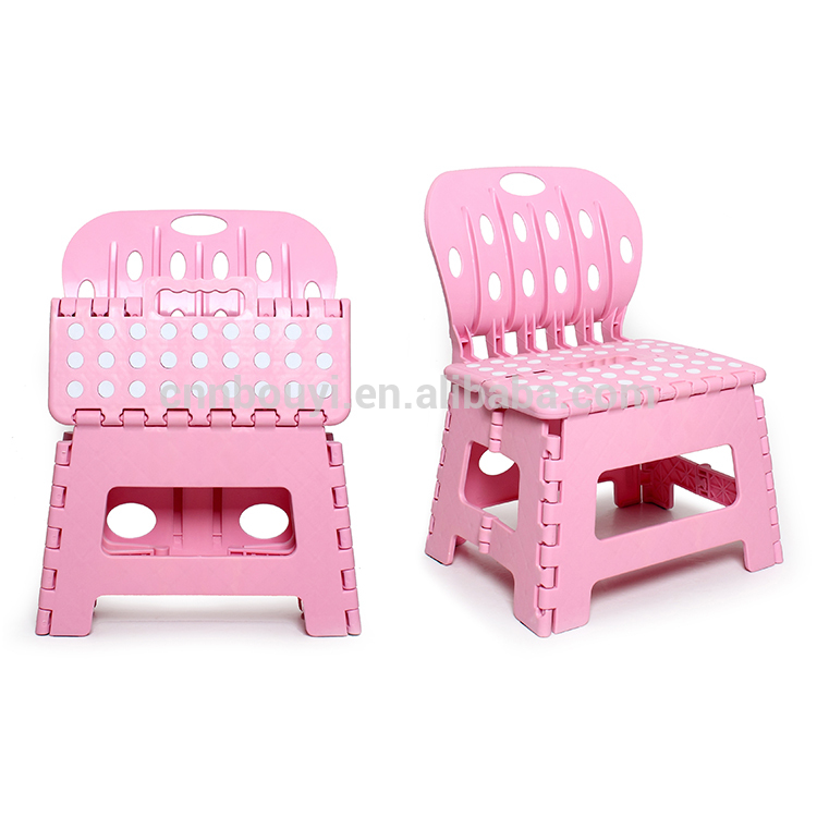 Kids step stool dressing table with stool
