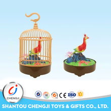 2017 wonderful gift kid voice activated animal cage toy