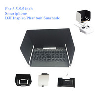 DJI Phantom 3 Inspire 1 Sunshade Phone Lens Hood for iPad Mini 2 3 iPad Air Air 2 iPhone 5 6 6Plus SAMSUNG Galaxy S5 S6 Note
