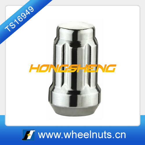 auto parts car tire hex wheel chrome lug spline nut