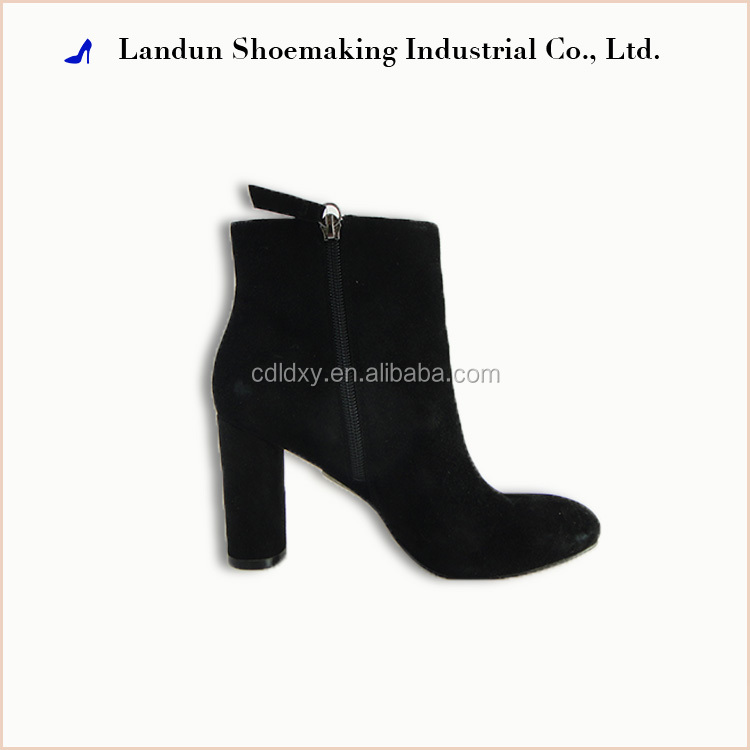 HOT sexy ladies shoe city women boots 2015 with rubber high heel