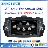 Touch screen car dvd player for Suzuki Ciaz/alivio/keietsu car dvd gps navigation system with WIFI GPS DVD FM/AM Support IPOD BT