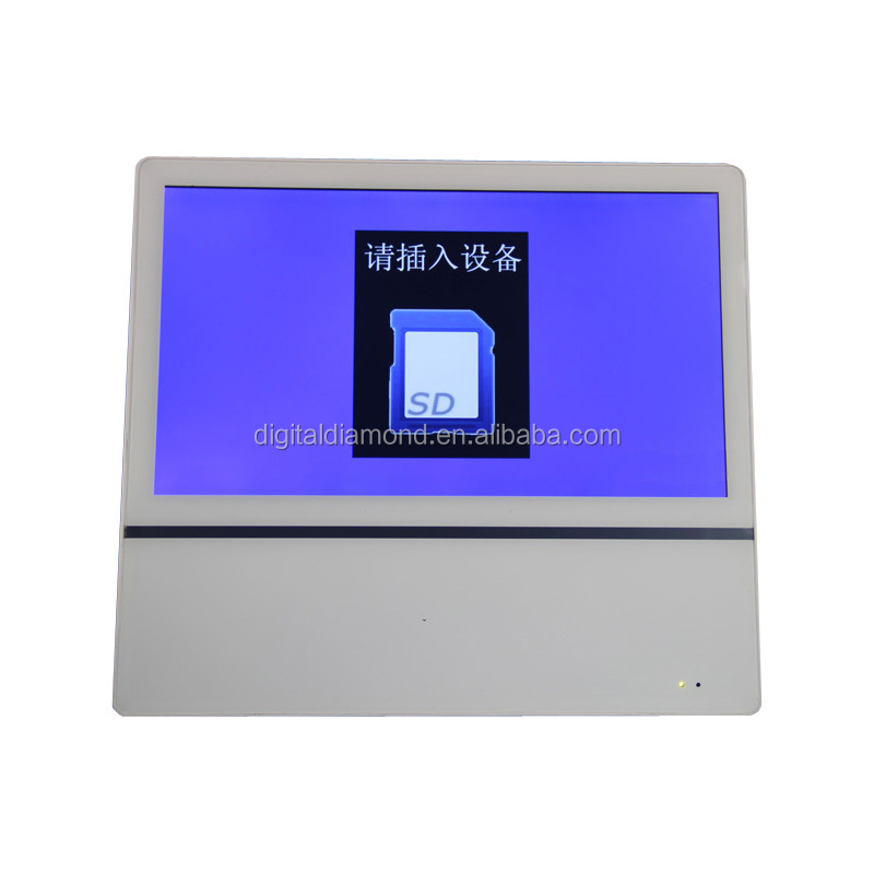 "22"" LCD bus customized lcd DVD ad player"