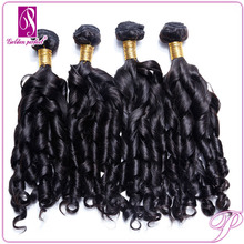 New Coming Spiral Curl Human Remy Hair Weaves Angels Hair