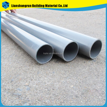 large diameter colored plastic upvc pvc water system pipe