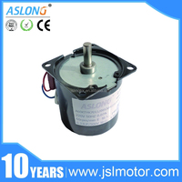 Durable Low Speed High Torque High Torque Low Rpm 120v Electric Motor Speed Controller/Wind Generator Asynchronous Gear Motor