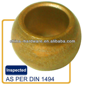 Brass Steel Cast Iron Stainless steel Bronze spherical bearing bush