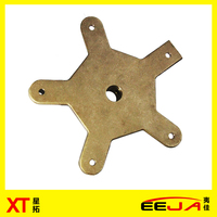 EEJA OEM newest customized Promotional Factory Price bronze copper sand casting spare parts