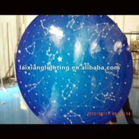 latest led modern optic fiber ceiling lights with 7 kinds color change crystal