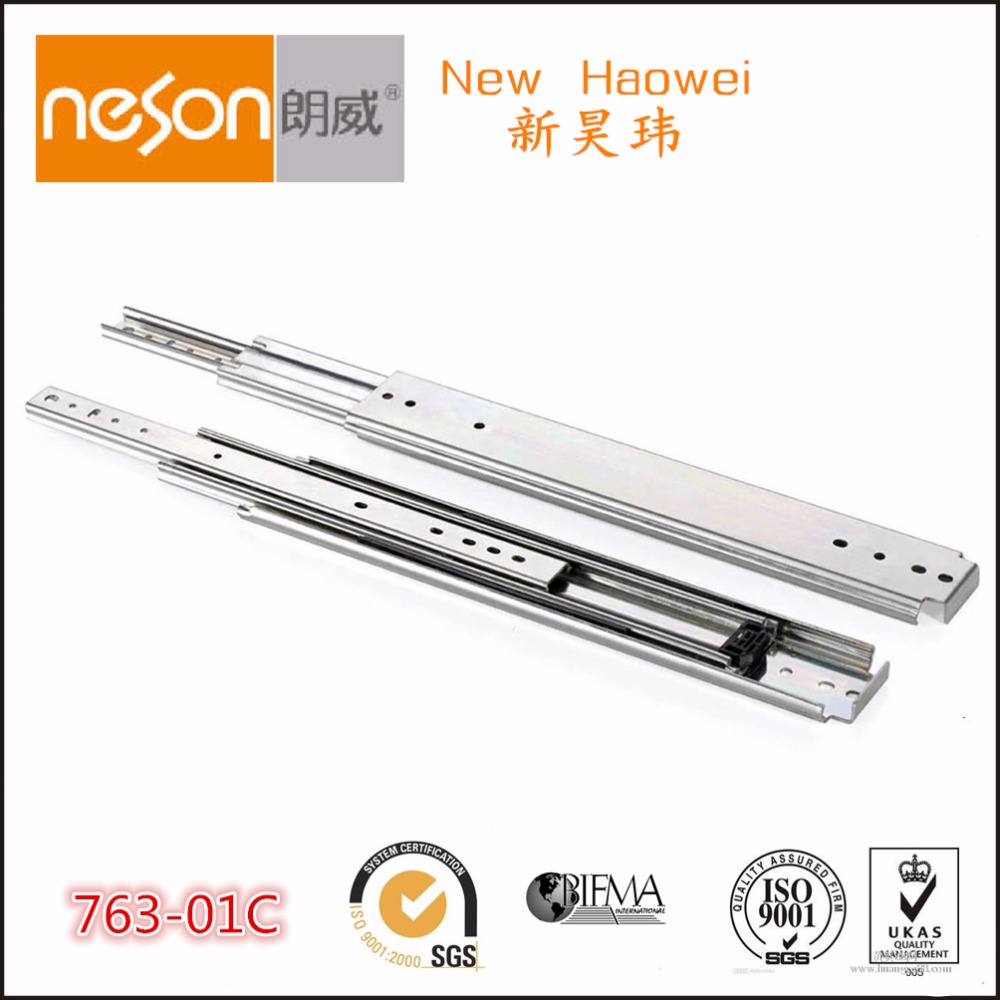 Neson 76mm 3T--tool box drawer slides/damper drawer slide/king slide drawer slides