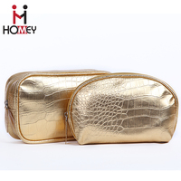 Promotional oem latest makeup wholesale bags travel leather contents pu cosmetic bag with factory price