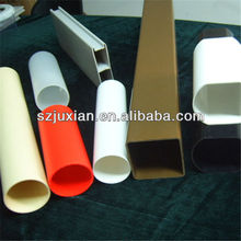 plastic profile PVC/PC/ABS/PP/PE/PS/HDPE/HIPS/PMMA extrude tube