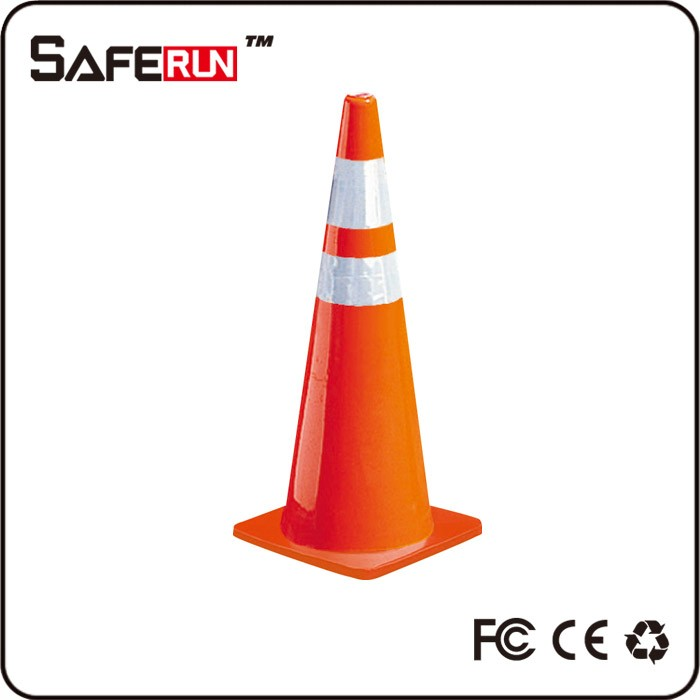 reflective rubber pvc traffic cone, safety traffic cones