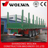 China Famous Brand Timber Transport Semi