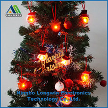 remote control christmas tree hanging decorative LED light