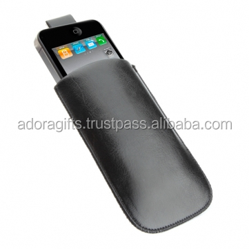 Leather mobile flip cover / flip leather mobile case / cell phone cover