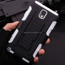 Note 3 Case Cover, Future Armor Holster Case for SAMSUNG GALAXY Note 3 N9000 Mobile Phone Case