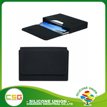 Cheap price colorful silicone business card holder
