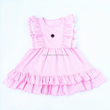 Latest Patterns Fairy Frocks Princess Design Children Party Dress for Little Girls Many Colors Dresses