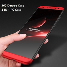 Wholesale high quality 360 Degree 3 In 1 Hard PC Phone Cover Cases For Huawei Nova 2i Maimang 6 Honor 9 9i Mate 10 Lite Case