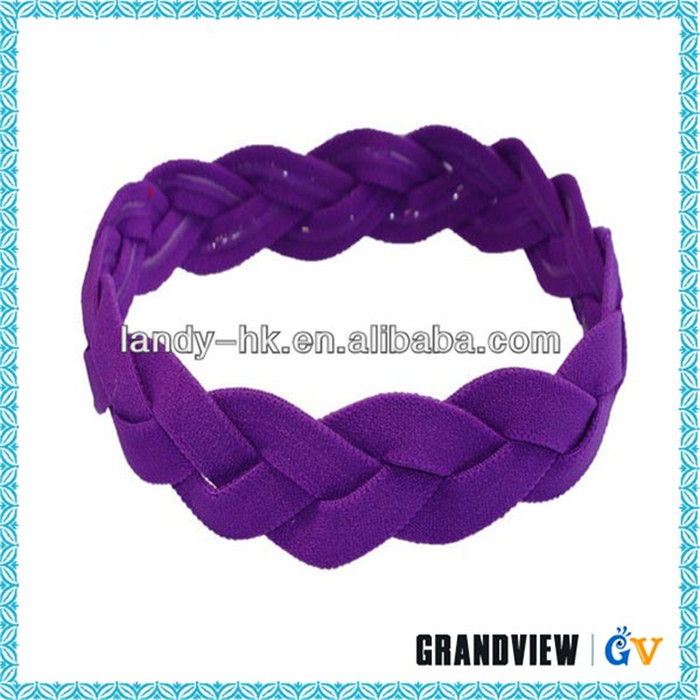 Fashion custom triple braid headband
