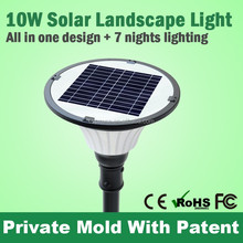 Non Electric Led Garden Solar Lighting For Parks And Courtyards
