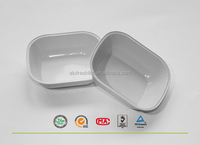 Professional Manfacturer airline & Smooth wall foil tray for food takeaway