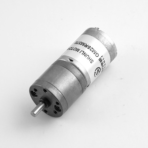 CE home appliance and vacuum cleaner 12v 24v 100 rpm brush dc gear motor
