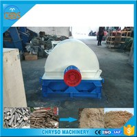 Crushing tree roots and other leftover of irregular shape tree roots crusher
