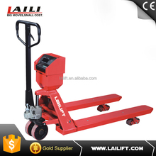 2 Ton Hydraulic Pump Hand Pallet Truck with Weight Scale