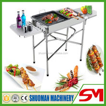 2016 top sale high quality welcomed gas kebab grill