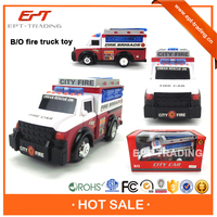 Top selling kids battery operated fire cars electric toy fire truck